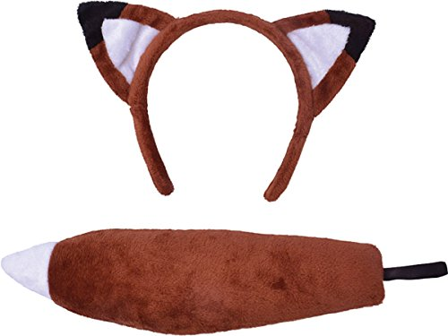 Sale For Costumes Furries Uk (Children's Fox Ears & Tail)