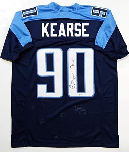 Jevon Kearse Signed Jersey - Blue Pro Style w The Freak! - Beckett Auth   ffc749ab8