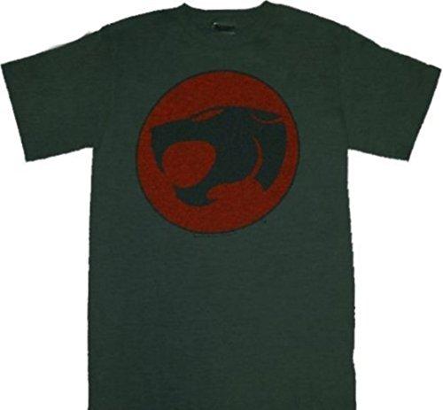 Thundercats Logo Dark Heather Gray Tee - T-shirt Thundercats Tee