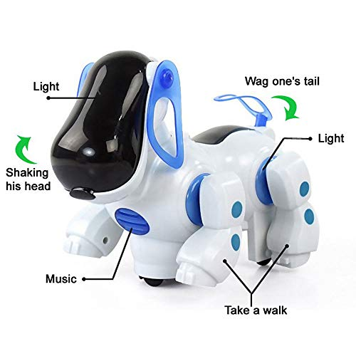 FidgetGear Kids Child Durable Electronic Walking Pet Robot Dog Puppy Toy Gift Music & Light from FidgetGear