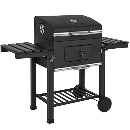 (Best Choice Products Outdoor Backyard Premium Barbecue Charcoal BBQ Grill- Black)