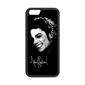At-Baby Customized Michael Jacksont Smile Face Pattern iPhone 6 4.7 inch Case Cover (Laser Technology)