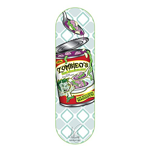 Rude Boyz 28 Inch Wooden Graphic Printed Display Skateboard Deck - Zombie Design