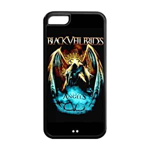Danny Store Hard Rubber Protection Cover Case for iPhone 5C - BVB Black Veil Brides