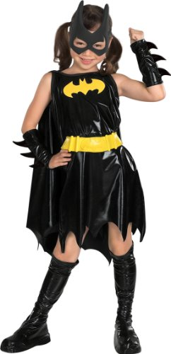 DC Super Heroes Child's Batgirl Costume, Large - Halloween Costume For 11 Year Girl