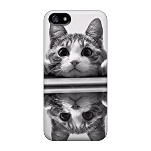 High Quality Shock Absorbing Case For Iphone 5/5s-cat