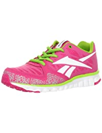 Reebok Realflex Transition 2.0 Youth Girls US Size 3.5 Pink Running Shoes