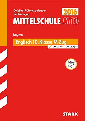 Abschlussprüfung Mittelschule M10 Bayern - Englisch