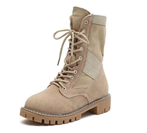 Boots 2 Stiefel Wolf Martin Befestigen in die rund Stiefel Stiefel War helfen Mei nbsp;mit Stiefel oben Stiefel Abteilung Wüste EU39 Rohr zum Women US8 das für der Leichte des CN39 UK6 Fall Frauen 6qB0ncIE
