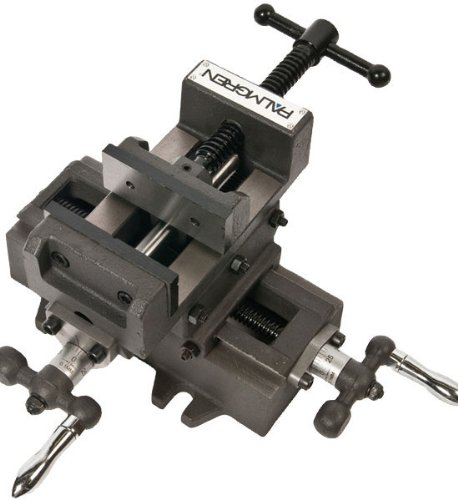 Palmgren Cross vise, 3''