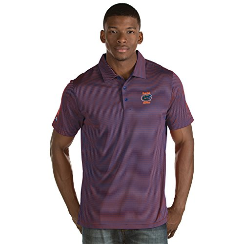 University of Florida Men's Quest Polo Shirt (Large) (Polos Antigua Striped)