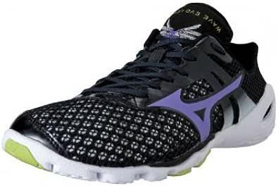Mizuno Zapatillas Minimalistas Wave EVO Levitas Negro/Morado/Blanco EU 39 (UK 6): Amazon.es: Zapatos y complementos