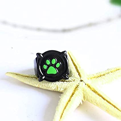 Kids Anime Cosplay Cat Noir Ring with Gift Box Cat Noir Ring for Kids Miraculous Cat Noir Ring for Adults Cosplay