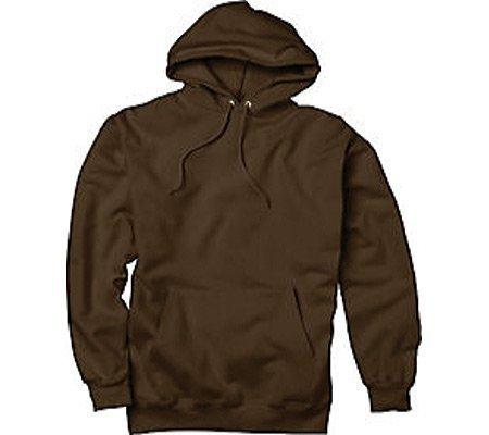 (Hanes Men's Ultimate Cotton® Heavyweight Pullover Hoodie (S, Dark Chocolate))