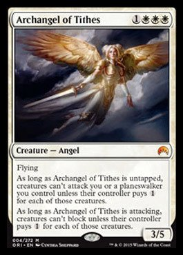 Magic: the Gathering - Archangel of Tithes (004/272) - Origins