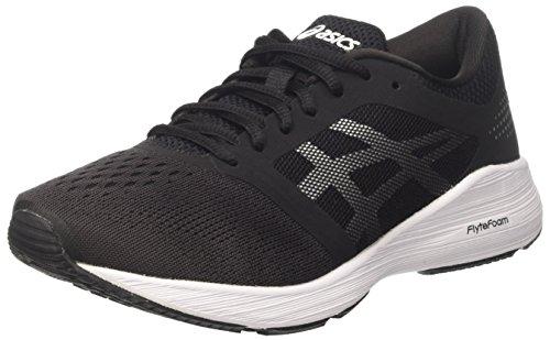 Asics Roadhawk Ff, Zapatillas de Entrenamiento para Mujer Negro (Black/silver/white)