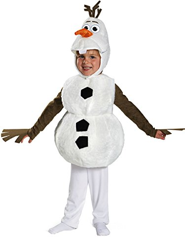 Olaf Deluxe Toddler Costume - Toddler Medium -
