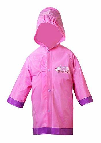 Girls Rain Slicker ( Disney Girl's Sofia the First Pincess Rain Slicker Size Small 2/3)