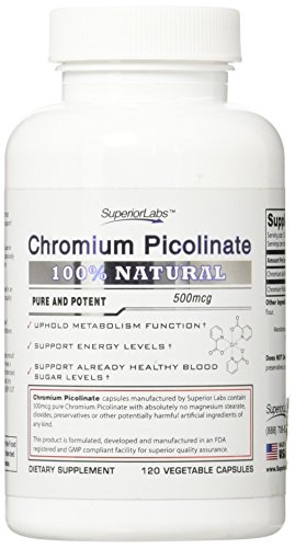 Superior Labs Chromium Picolinate Vegetable