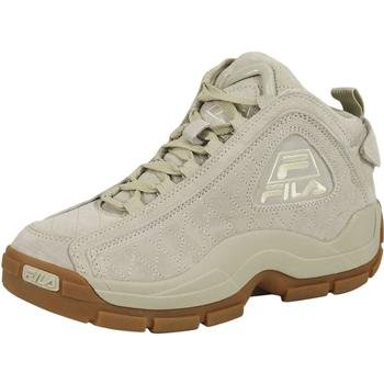 Fila Mens 96 Qulted G Hill Sneakers Crema