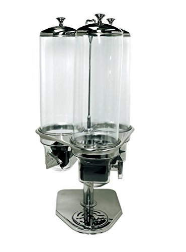 Update International (CRD-3) 1 Gal Triple Cereal Dispenser (Cereal Dispenser Triple)
