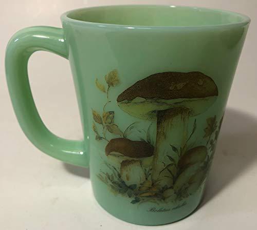 Coffee Mug - Mushrooms - Rosso Glass Exclusive - USA - American Made (Boletus edulis)