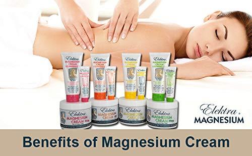 Amazon.com : Elektra Magnesium Cream Herbal : Body Gels And Creams : Beauty