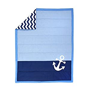 41LYGFLgJnL._SS300_ Nautical Crib Bedding & Beach Crib Bedding Sets