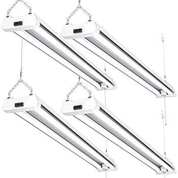 Sunco Lighting 2 Pack Led Utility Shop Light 4 Ft