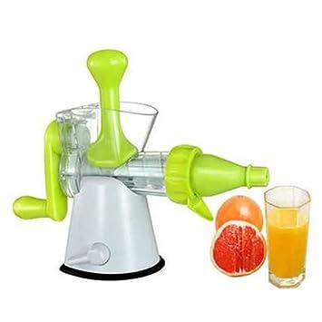 Compra Mano Funciona Manual Exprimidor Prensa frutas verduras Juice Maker Limón Naranja Exprimidor Exprimidor de zumo Lavadora en Amazon.es