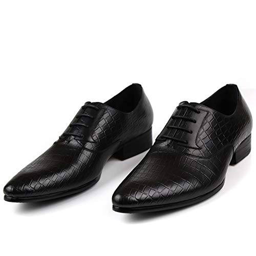 lLeather Manuale Uomo scarpe Tip Oxford NANXZ Nero England Of BdYqfwF