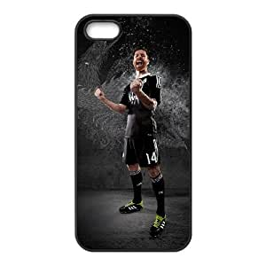 Real Madrid Black iPhone 5 5s Cell Phone Case Black P6680051