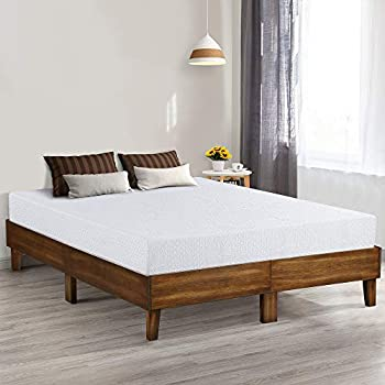 Amazon Com Olee Sleep Vc14sf05q 14 Inch Wood Platform Bed