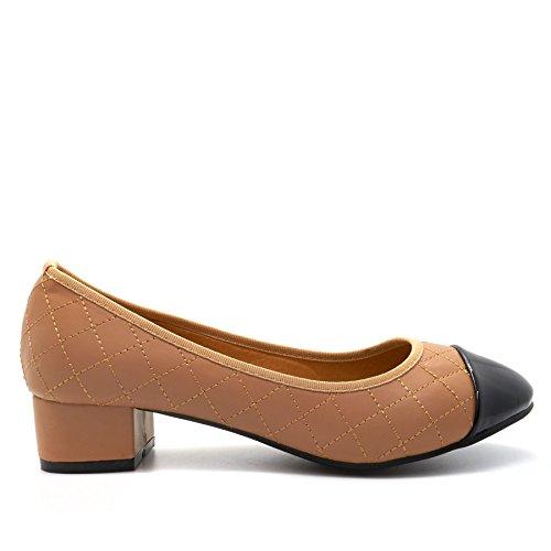 Beige Footwear Donna London Con Sandali Zeppa AwXHq