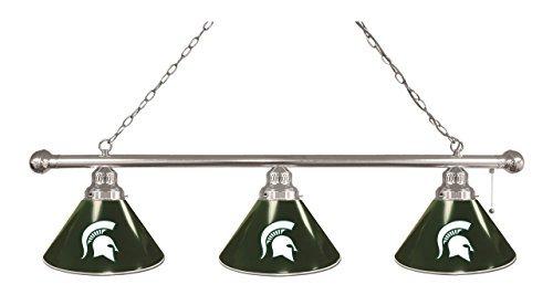 Michigan State 3 Shade Billiard Light