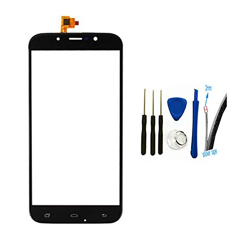Digitizer touch screen Glass Panel cover Replacement For UMI Rome X (black)