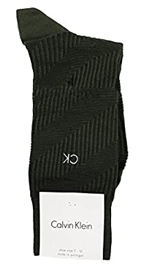 Calvin Klein Diagonal Textured Crew Socks