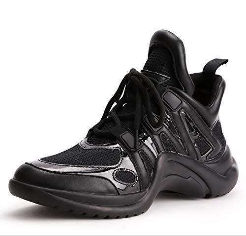Deportivos A Mujeres Respirables Five Los Ayudar Inferiores Viento Las Ocasionales Liangxie Para Alta Antideslizantes Zapatos La Moda De Diarios 5xYw8gqZ