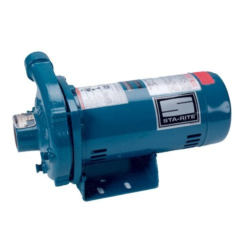 Pentair Sta-Rite JHD-62HL Single Phase Cast Iron Centrifugal Pump and Motor Assembly, 3/4 HP