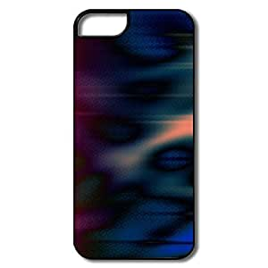 IPhone 5 5S Hard Plastic Cases, Aero Colorful Multi Colors White/black Cases For IPhone 5