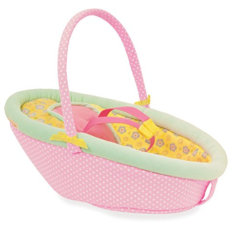 Manhattan Toy Baby Stella Cute Comfort Car Seat Doll Accessory For 12 And 15