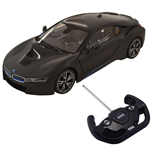 Costzon Licensed 1:14 BMW I8 Remote Control Car Radio RC Vehicle Toy w/Opening Vertical Door