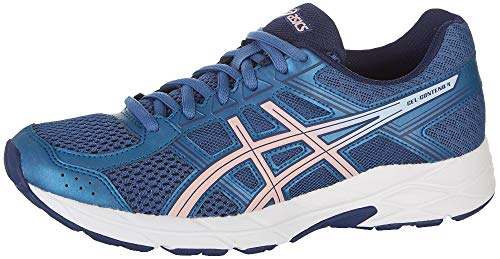 ASICS Gel-Contend 4 Women's Running Shoe, Azure/Frosted Rose, 8.5 M US