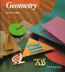Geometry Teacher's Edition by Ray Jurgensen (1994-01-03) -  Houghton Mifflin
