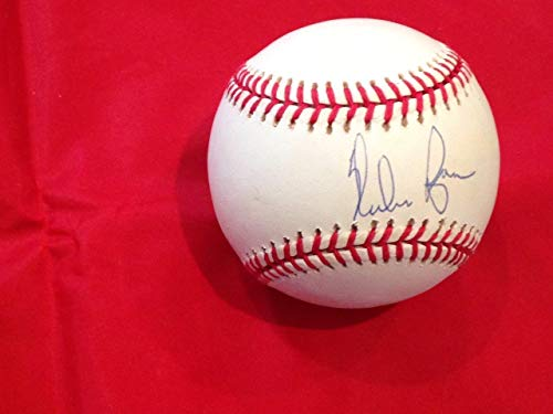 Ryan Nolan Ball (Signed Nolan Ryan Ball - Rangers Astros Hof Ah Loa 1c - JSA Certified - Autographed Baseballs)