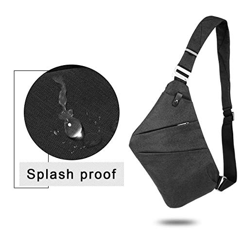 396d06972b26 OSOCE Sling Chest Bag Cross Body Shoulder Backpack Anti Theft ...