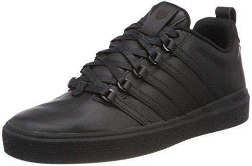 K-Swiss Herren Donovan Sneaker, Schwarz (Black/Baltic), 41.5 EU