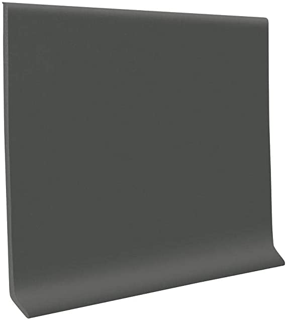 Roppe 700 Series Cove Base TPR 4 X1//8 X 3 Pieces Charcoal Inside Corner Block