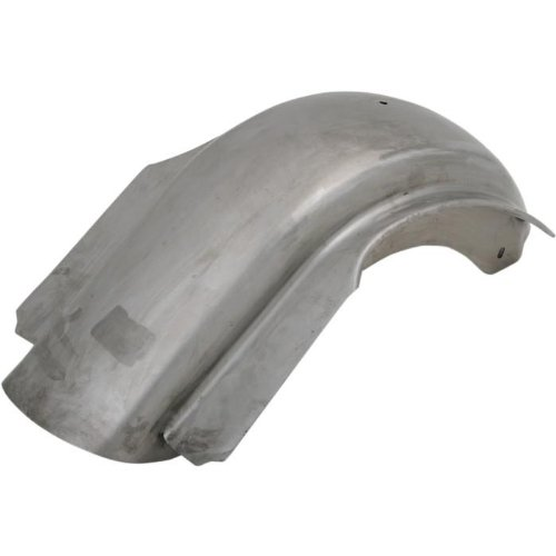 Paughco Bagger Werx Skirted Rear Fender - Rib Fender without License Plate Cutout 441028 ()