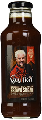Guy Fieri BBQ Sauce, Brown Sugar Bourbon, 19 - Guy Sauce